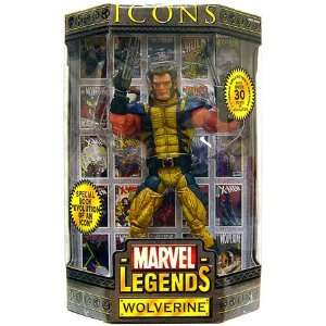 Marvel Legends Icons 12 Series 1 Action Figure Wolverine