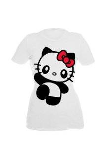 Hello Kitty Panda Thing Girls T Shirt Explore similar