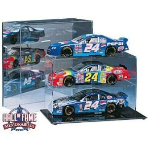 1/24 Scale Three Car Display Case with Mirrored Back