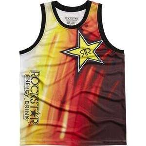 Fox Racing Rockstar Faded B ball Jersey   Medium/White