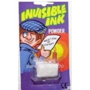 magic invisible ink powder trick prank toys[50off ems] Toys & Games