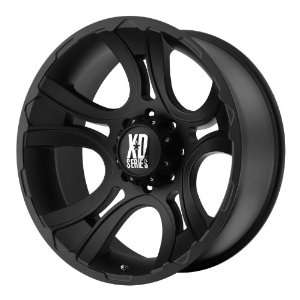 18x9 KMC XD Crank (Matte Black) Wheels/Rims 8x170 (XD80189087700)