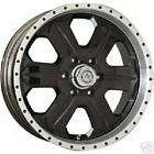 16 American Racing Fuel Glossy Black Custom Wheels RWD