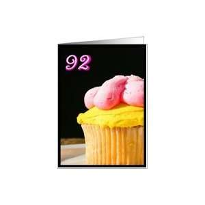 Happy 92nd Birthday Muffin Card Toys & Games