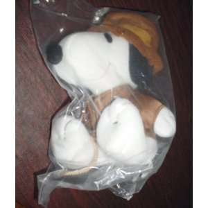 Metlife Peanuts Snoopy Plush as Indiana Jones with Whip Toys & Games