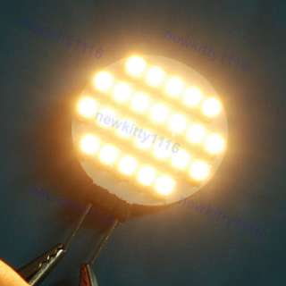 Warm White G4 24 SMD LED Lamp Light Car Bulb 12V AC