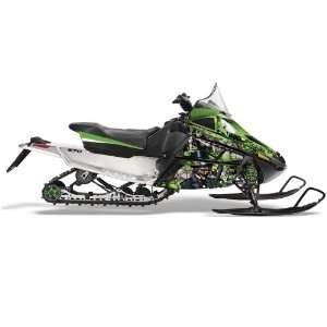 AMR Racing Fits Arctic Cat F Series Snowmobile Sled Graphic Kit Mad