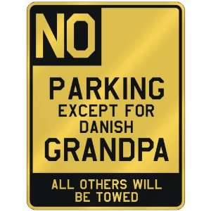 FOR DANISH GRANDPA  PARKING SIGN COUNTRY DENMARK