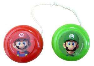 Super Mario Bros Wii Party Yo Yos x 4 Loot bag fillers