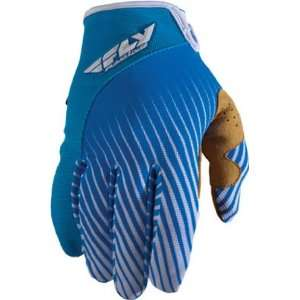 Fly Racing Lite Race Gloves, Blue/White, Size Sm, Size Segment Youth