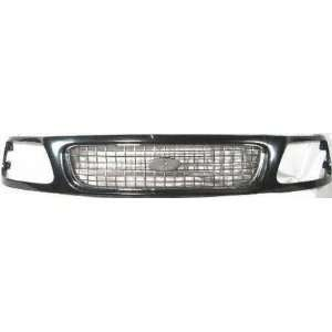 97 98 FORD EXPEDITION GRILLE SUV, XLT Model, Gray (1997 97 1998 98