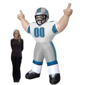 Detroit Lions NFL Air Blown Inflatable Tiny Lawn Figure/Football