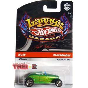 2008 2009 Hot Wheels Larrys Garage (Larry Wood) 33 FORD
