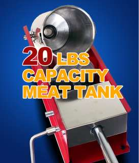 New MTN Commercial Restaurant Carbon Steel Sausage Stuffer 20 Lbs Meat