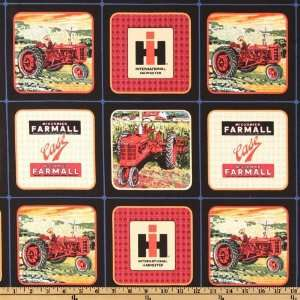 44 Wide International Harvester Tractor Blocks Black