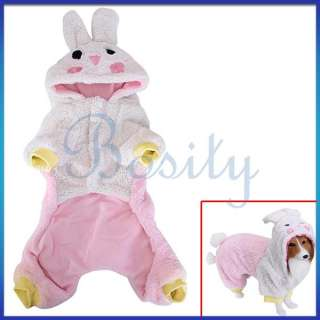 Dog Cute Animal Clothes Coat Hoodie Jumpsuit Party Favor Apparel All