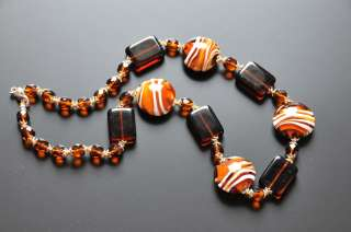 VENATO MURANO GLASS Necklace HAND MADE in VENICE