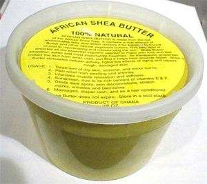 Raw Organic Unrefined Real Natural African Shea Butter 16oz