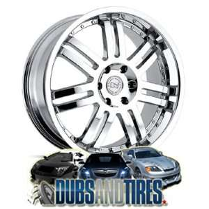 20 Inch 20x9 Black Rhino wheels Serengeti Chrome wheels