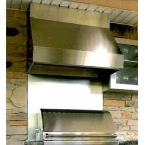 7260 12 60 Stainless Steel Hood With 1250 CFM Two
