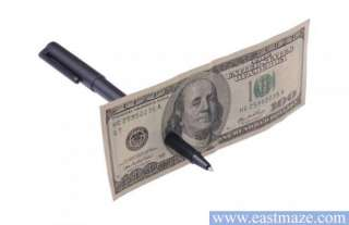 Magic Trick Toy Tool   Pen Through Paper Money SEE DEMO
