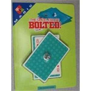 Tenyo Bolted   Card / Close Up / Parlor Magic Tric Toys