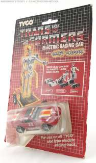 listing is for Tyco Transformers ELECTRIC RACING SET CAR Ford Mustang