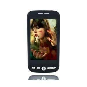 Touch Screen Quad band Dual SIM Cell Phone(Black) Cell Phones