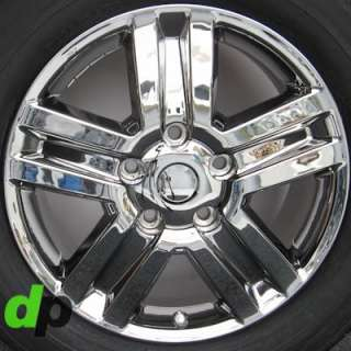 20 Toyota Tundra/Sequoia Factory/OEM EcoDriven Chrome Wheels/Rims