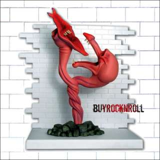 2004 Pink Floyd The Wall Series 2 Figure Evil Flowers Diorama