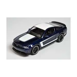 Dark Blue Ford Mustang Boxx 302 124 Scale Die Cast Car Toys & Games