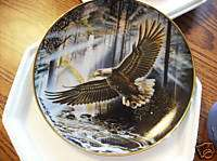 Franklin Mint The Promise of Freedom Eagle Plate