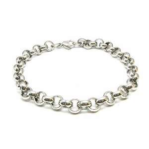 Mens Titanium Stainless Steel Chain Bracelet Birthday Gifts Jewelry