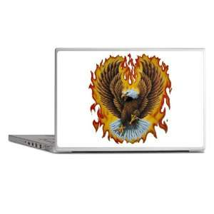 Laptop Notebook 17 Skin Cover Eagle with Flames