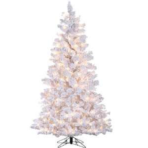White Pine Artificial Christmas Tree   Clear Lights