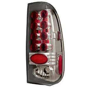 Ford Super Duty 2008 2009 Tail Lamps, LED Platinum Smoke 1