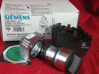 3SB36 08 2TA11 Siemens 3 position selector Switch