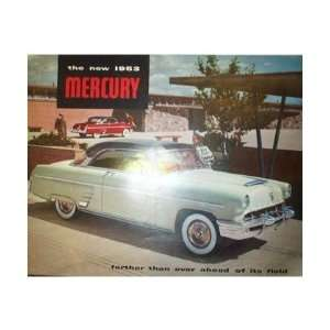 1953 MERCURY Sales Brochure Literature Book Piece