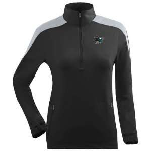 San Jose Sharks Womens Succeed 1/4 Zip Performance Pullover (Team