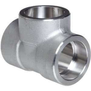 316/316L Forged Stainless Steel Pipe Fitting, Tee, Socket Weld, Class