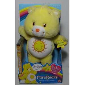 Care Bears 13in Talking Funshine Bear with DVD video