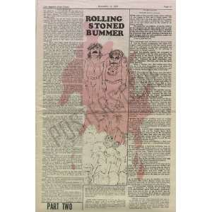 Rolling Stones Altamont Concert Review 1969