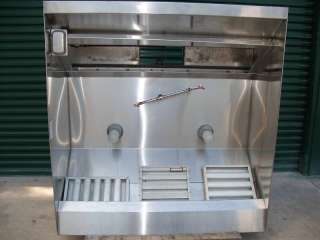 STAINLESS STEEL HOOD 5 FOOT HOOD CAPTIVE AIRE HOOD