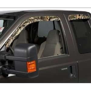 Stampede Sidewind Deflectors 4pc   Realtree Advantage Max