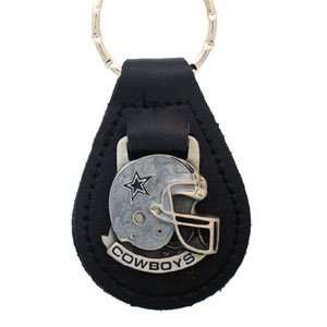 Dallas Cowboys NFL Small Leather Key Ring Sports