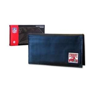 Kansas City Chiefs   NFL Checkbook Cover in a Window Box
