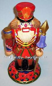 SOLDIER NUTCRACKER STATUE MULTI COLOR CHRISTMAS NEW