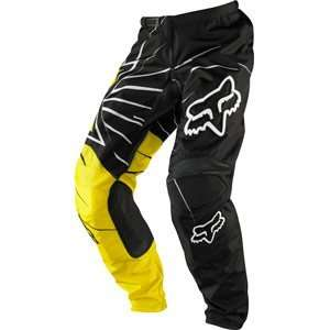 Fox Racing 180 Pants Rockstar Black/Yellow Automotive