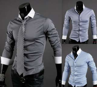 Casual & Dresses Design Slim Fit Spandex Loll Up Shirts on SALE