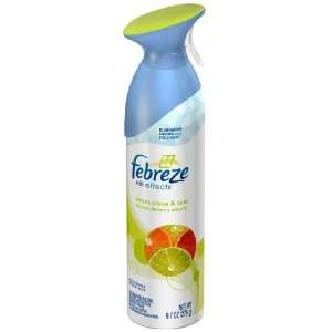 Febreze Air Effects Citrus & Zest 9.7 oz Health
